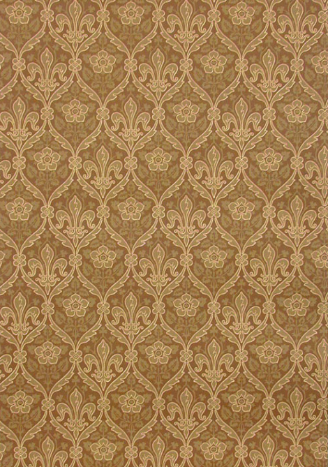 Wallpaper: Fleur de Lis & Rose from: www.CharlesRupertDesigns.com