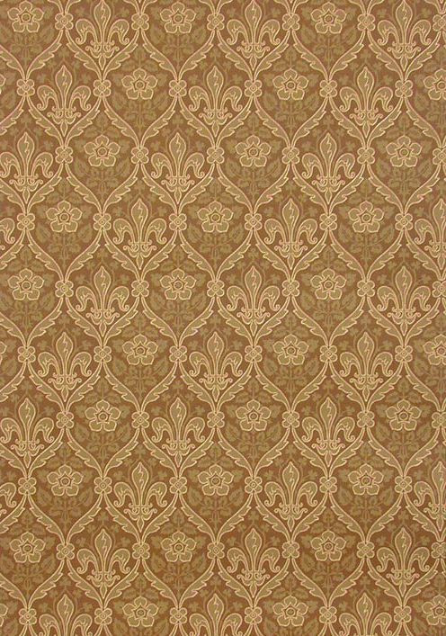 Wallpaper Fleur De Lis Rose From CharlesRupertDesigns