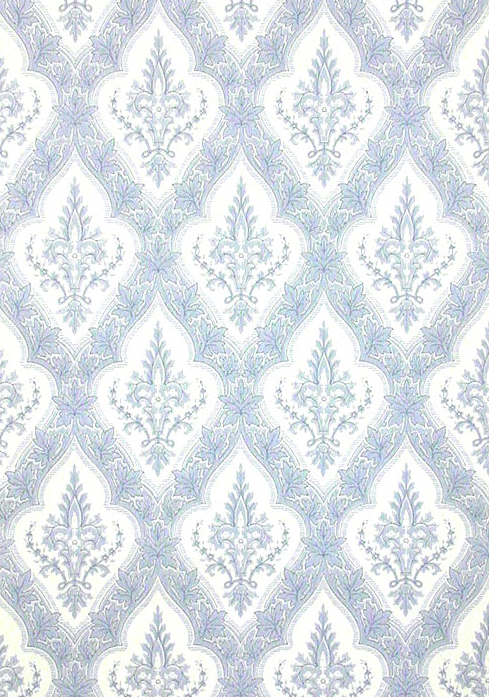 Wallpaper Reproduced From The Drawing Room Above Gothic Leaves Is Available
