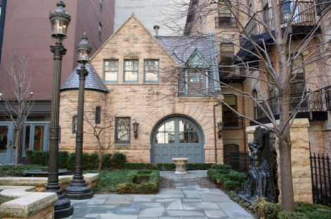 Even the Carriage House was built in the same Richardson Romanesque style to match the house