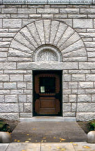 Doorway at the Glessner House, Chicago Open to the Public Designed by Henry Hobson Richardson Built 1887