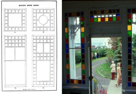 Queen anne style architecture and art in england and for Queen anne windows