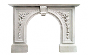 Cararra marble fireplace in the Italianate style  – c1860's