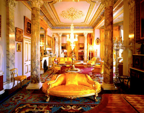 Queen Victoria's Drawing Room at Osborne. The House and grounds are open to the public. See: http://www.english-heritage.org.uk/daysout/properties/osborne/
